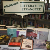 Paris Bookstore - New Arrivals